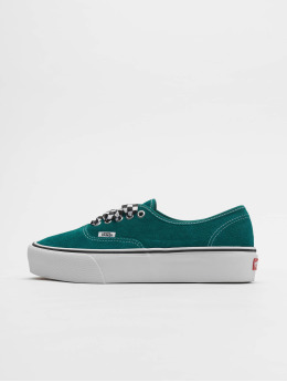 Vans Tøysko UA Authentic Platform 2.0 grøn