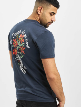 Vans T-Shirt Til Death Pocket blau