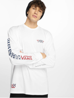 Vans T-Shirt manches longues Crossed Sticks blanc