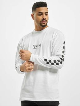 Vans T-Shirt manches longues Mn Easy Box Checker blanc