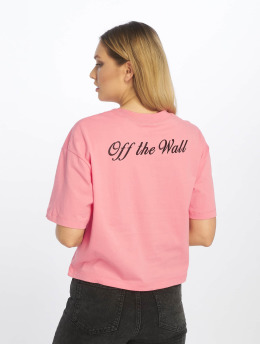 Vans t-shirt Brush Off pink