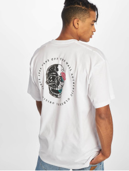 Vans t-shirt Coming Up Roses  wit