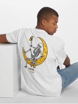 Vans t-shirt Moonshine wit