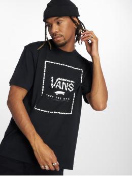 Vans t-shirt Print Box zwart