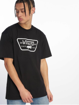 Vans t-shirt Full Patch zwart