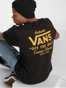 Vans t-shirt Holder Street II zwart