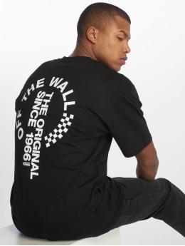 Vans t-shirt Distort zwart