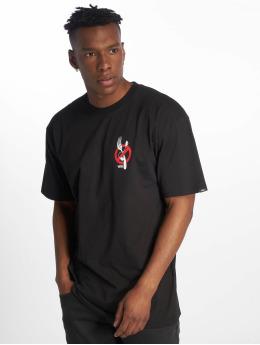 Vans t-shirt Zero Forks zwart