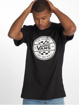 Vans t-shirt Checker Co. II zwart