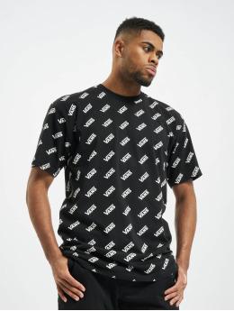 Vans t-shirt Retro Allover Vans zwart