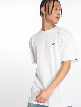 Vans T-Shirty Left Chest Logo bialy