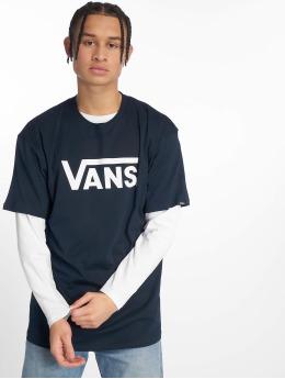 Vans T-Shirty Classic niebieski
