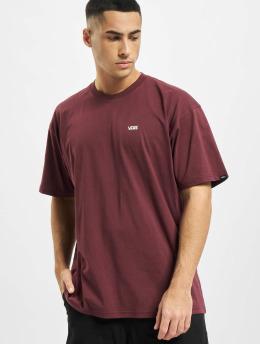 Vans T-Shirty Mn Left Chest Logo Tee  niebieski