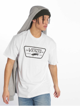 Vans T-skjorter Full Patch hvit