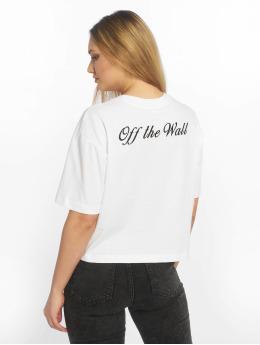 Vans T-skjorter Brush Off hvit