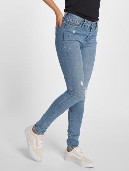 Vero Moda Skinny Jeans vmSeven modrý