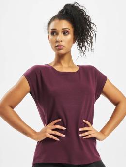 Vero Moda T-Shirty vmAware Plain czerwony