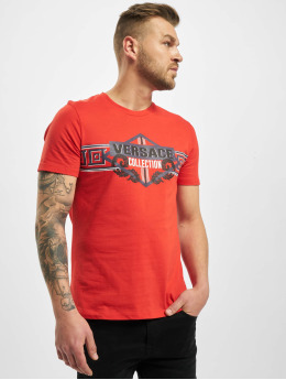 Versace Collection T-Shirty Collection pomaranczowy