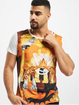Versace Jeans T-Shirty Columns  bialy