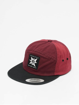 Volcom 5 Panel Caps Hat  rød