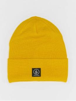 Volcom Beanie Box Stone geel