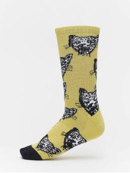 Volcom Calcetines Ozzie  amarillo