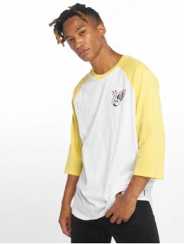 Volcom Camiseta de manga larga Winged Peace 3/4  amarillo