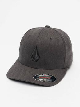 Volcom Flexfitted Cap Full Stone grau