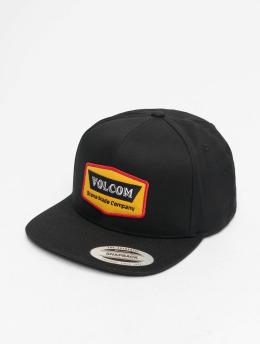 Volcom Gorra Snapback Cresticle negro