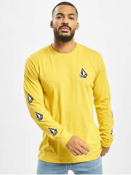 Volcom Pitkähihaiset paidat Family Stone Bsc keltainen