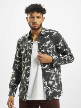 Volcom Pitkähihaiset paidat Spinner Flannel musta