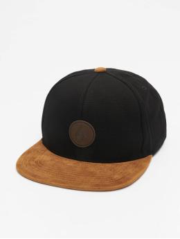 Volcom Snapback Cap Quarter Fabric black