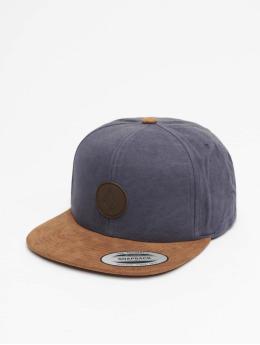 Volcom Snapback Caps Quarter Fabric  blå
