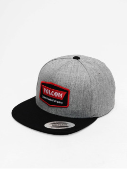 Volcom Snapback Caps Cresticle harmaa