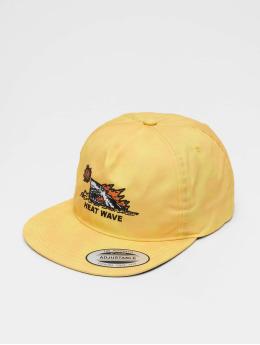 Volcom Snapback Caps Heat Wave keltainen