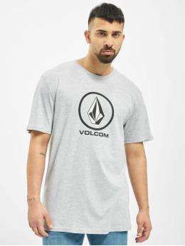 Volcom t-shirt Crisp Stone grijs