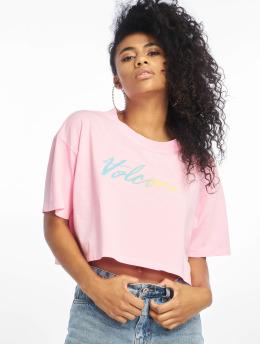 Volcom T-Shirt Neon And On magenta
