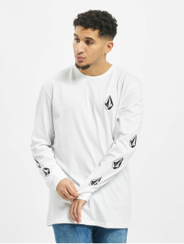 Volcom T-Shirt manches longues Deadly Stone blanc