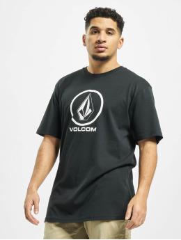 Volcom t-shirt Crisp Stone  zwart
