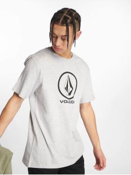 Volcom T-shirts Crisp Stone grå