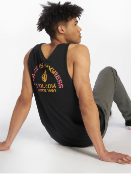 Volcom Tanktop Peace Is Progess zwart