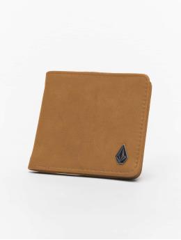 Volcom Wallet Slim Stone Pu brown