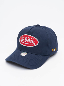 Von Dutch Snapback Cap Base blue
