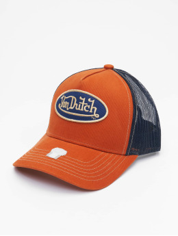 Von Dutch Trucker Caps Og  brazowy