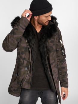 VSCT Clubwear Зимняя куртка 2-Face черный