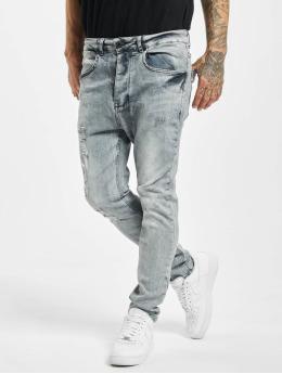 VSCT Clubwear Облегающие джинсы Keanu Lowcrotch серый