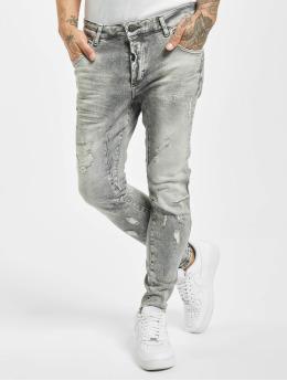 VSCT Clubwear Облегающие джинсы New Keanu Spencer Hybrid серый