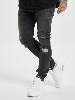 VSCT Clubwear Облегающие джинсы Knox  черный