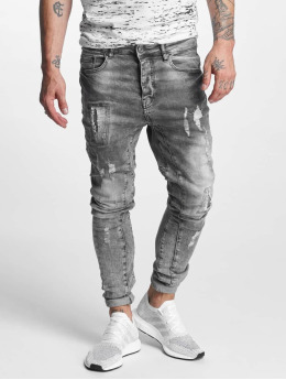 VSCT Clubwear Antifit Carter 5 Pocket Denim  šedá