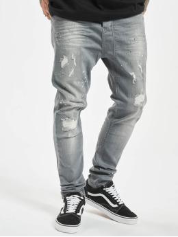 VSCT Clubwear Antifit-farkut Keanu Lowcrotch harmaa